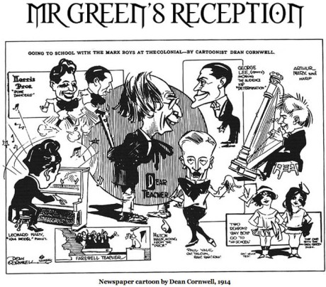 Marx Brothers Mr Green's Reception 1914