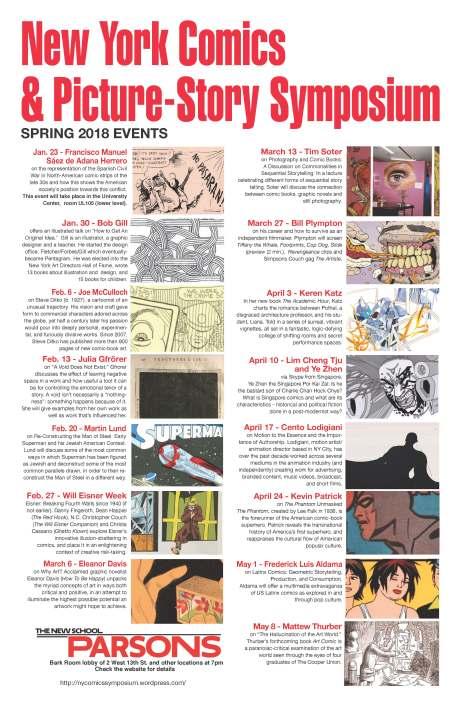 Spring 2018 Symposium poster